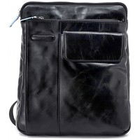 Bags Men Pouches / Clutches Piquadro TRACOLLA PELLE NERA Multicolore