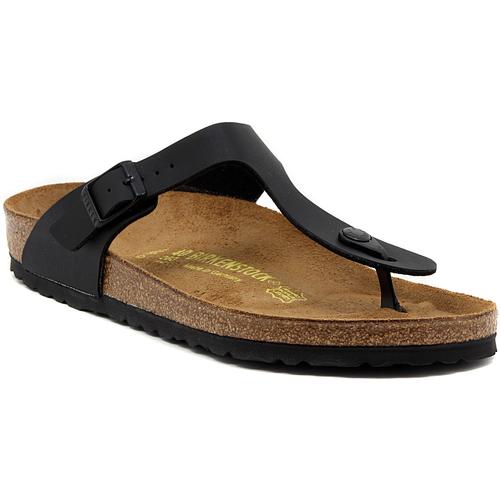 Shoes Women Flip flops Birkenstock GIZEH SCHWARZ Multicolore