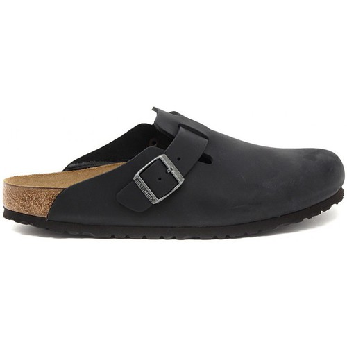 Shoes Men Clogs Birkenstock BOSTON  SCHWARZ    121,3