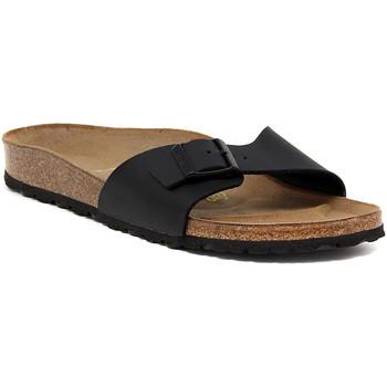 Shoes Women Mules Birkenstock MADRID SCHWARZ Nero