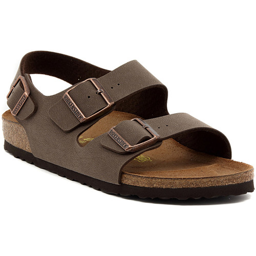 Shoes Sandals Birkenstock MILANO MOCCA Marrone