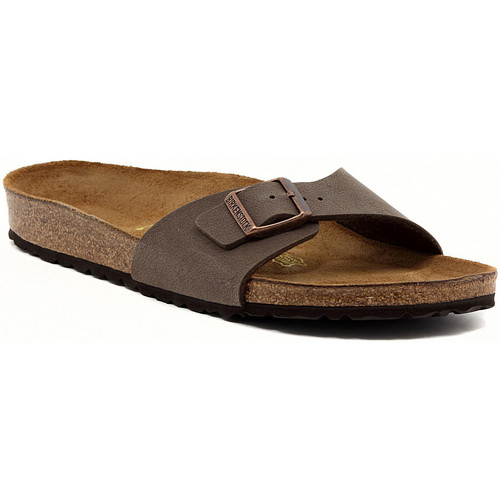 Shoes Women Mules Birkenstock MADRID MOCCA Marrone