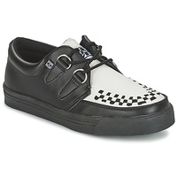 Shoes Derby Shoes TUK CREEPERS SNEAKERS Noir / Blanc