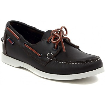 Shoes Men Boat shoes Kammi SEBAGO DOCKSIDE WINE Multicolore