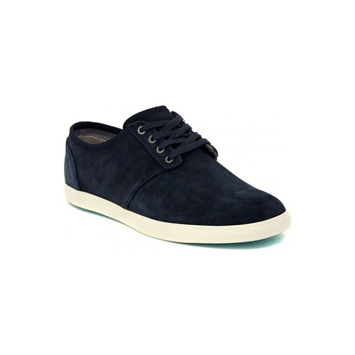 Shoes Men Low top trainers Clarks TORBAY LACE NAVY Multicolore