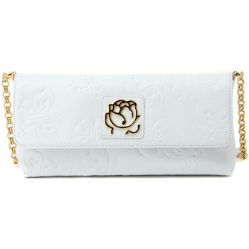 Bags Women Evening clutches Braccialini PAROS BIANCO Multicolore