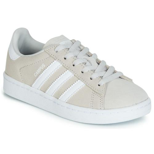 Shoes Children Low top trainers adidas Originals CAMPUS C Grey