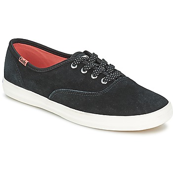 Shoes Women Low top trainers Keds CHAMPION SUEDE  BLACK