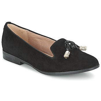 Shoes Women Loafers Moda In Pelle ENOLA  BLACK