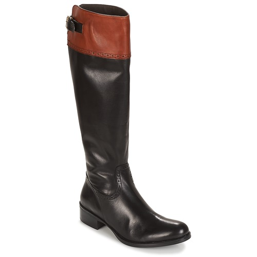 Shoes Women High boots Moda In Pelle TULSY  black