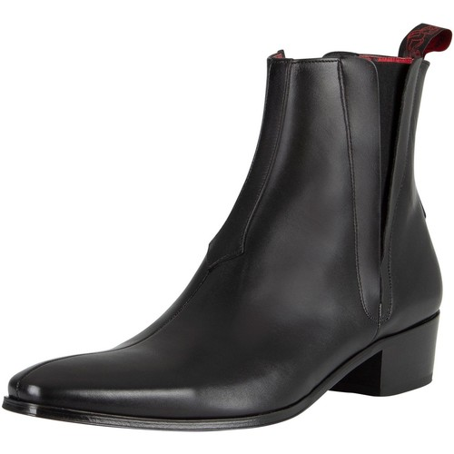 Shoes Men Mid boots Jeffery-West Carlito Leather Boots black