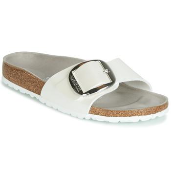 Shoes Women Mules Birkenstock MADRID BIG BUCKLE White