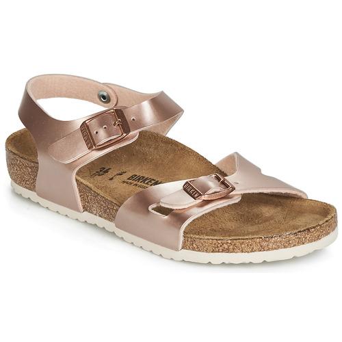 Shoes Girl Sandals Birkenstock RIO Pink
