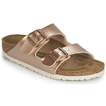 Shoes Girl Mules Birkenstock ARIZONA Gold