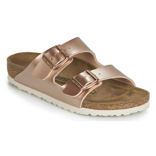 Shoes Girl Mules Birkenstock ARIZONA Gold