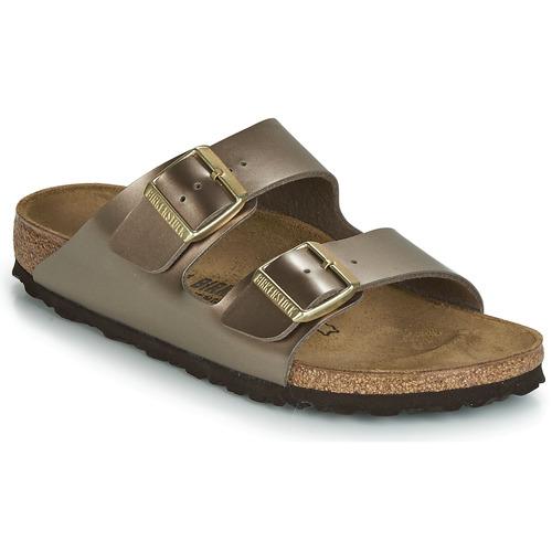 Shoes Women Mules Birkenstock ARIZONA Bronze