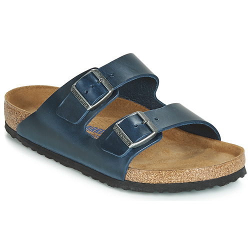 Shoes Men Mules Birkenstock ARIZONA SFB Blue