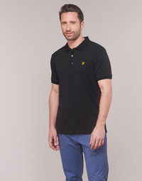 Clothing Men Short-sleeved polo shirts Lyle & Scott FAFARLIPE Black