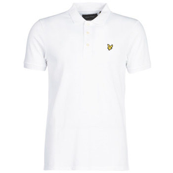 Clothing Men Short-sleeved polo shirts Lyle & Scott FAFARLIPE White