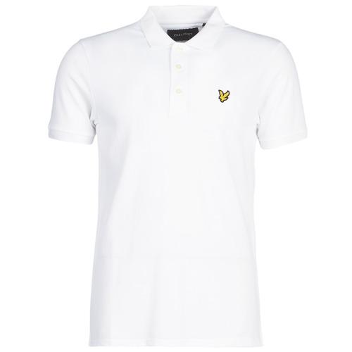 Clothing Men short-sleeved polo shirts Lyle & Scott FAFARLIPE White
