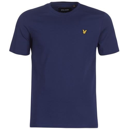 Clothing Men short-sleeved t-shirts Lyle & Scott FAFARLIBE Marine