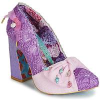 Shoes Women Heels Irregular Choice TI AMO Purple