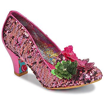 Shoes Women Heels Irregular Choice CARIAD Pink