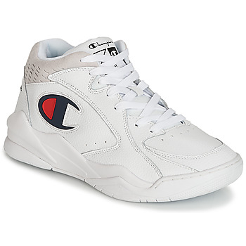 Shoes Men Hi top trainers Champion ZONE MID White