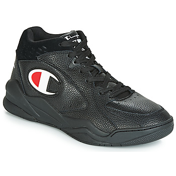 Shoes Men Hi top trainers Champion ZONE MID Black
