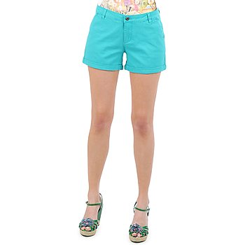 Clothing Women Shorts / Bermudas Vero Moda RIDER 634 DENIM SHORTS - MIX TURQUOISE