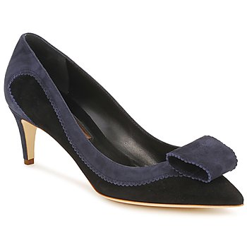 Shoes Women Heels Rupert Sanderson BESSIE Blue / Black
