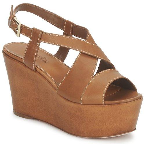 Shoes Women Sandals Sebastian S5270 Nude