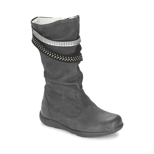 Shoes Girl High boots Primigi (enfant) CHARLIZE Black