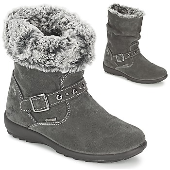 Shoes Girl High boots Primigi GLOSSY GORETEX Grey
