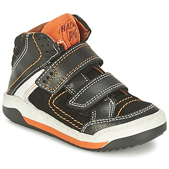 Shoes Boy Hi top trainers Primigi MOTT Black / Orange