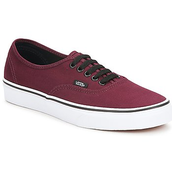 Shoes Low top trainers Vans AUTHENTIC Port Royale Red