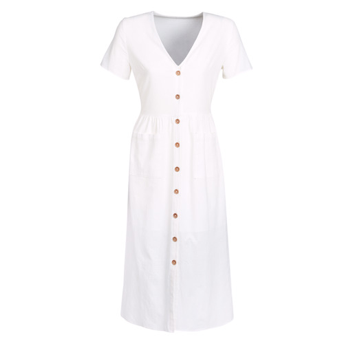 Clothing Women Long Dresses Betty London KIGAGE White