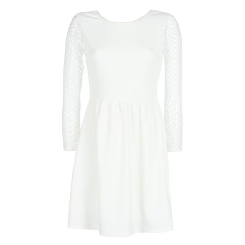 Clothing Women Short Dresses Betty London J. LOUISE White