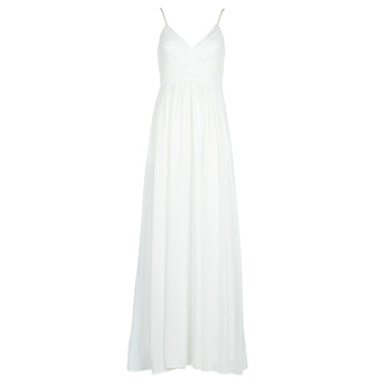 Clothing Women Long Dresses Betty London VICTOIRE White