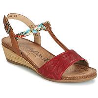 Shoes Women Sandals Remonte Dorndorf MIJUS Red