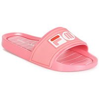 Shoes Women Sliders Melissa SLIDE + FILA Pink