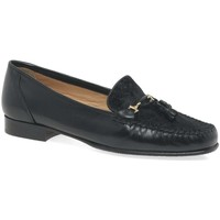 Shoes Women Shoes Charles Clinkard Poppy Womens Moccasins black
