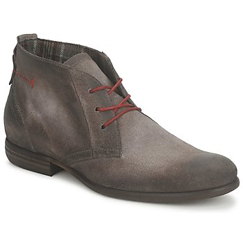 Shoes Men Mid boots Dream in Green NIDAK GREY SMOG-CAFE