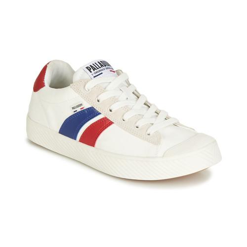 Shoes Low top trainers Palladium PALLAPHOENIX FLAME C White