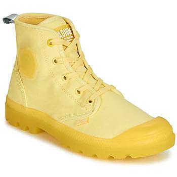 Shoes Women Mid boots Palladium PAMPALICIOUS Yellow