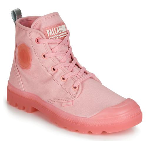 Shoes Women Mid boots Palladium PAMPALICIOUS Pink