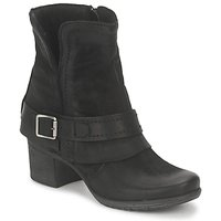 Shoes Women Ankle boots Dream in Green VINEL NERO-6002-BLACK