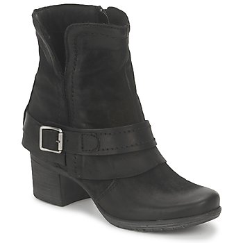Ankle boots / Boots Dream in Green VINEL NERO-6002-BLACK 350x350