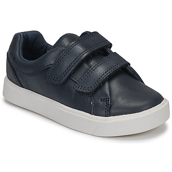 Shoes Boy Low top trainers Clarks City OasisLo T Marine