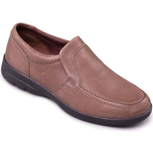 Shoes Men Loafers Padders Leo Mens Casual Slip On Shoes BEIGE